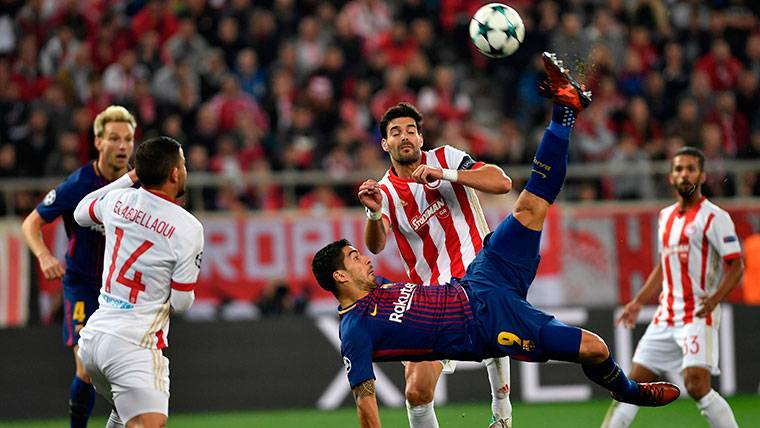Pólvora mojada para un Luis Suárez cada vez más agobiado