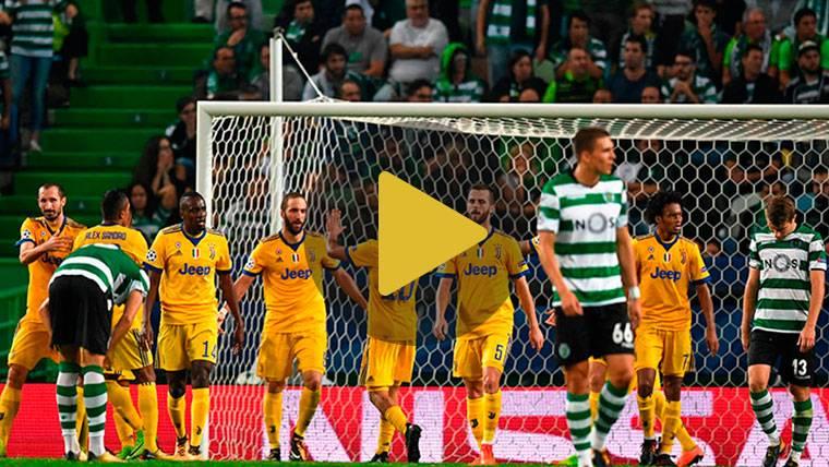 Sporting y Juve empatan y el pase del Barça, en 'stand-by'