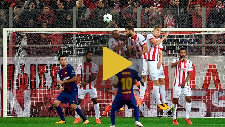 Vídeo resumen: Olympiacos 0 Barcelona 0 (Champions J4)