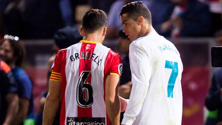 El reproche de Cristiano Ronaldo a un jugador del Girona