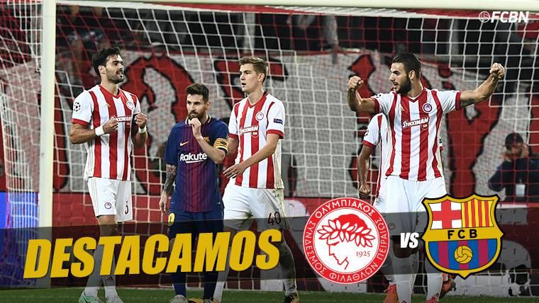 La brutal racha europea que rompió el Barça ante Olympiacos