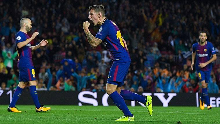 El gran momento de Digne en el Barça podría valer un Mundial