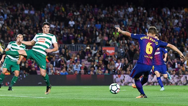 Denis Suárez, entre los mejores 'creadores de gol' de LaLiga