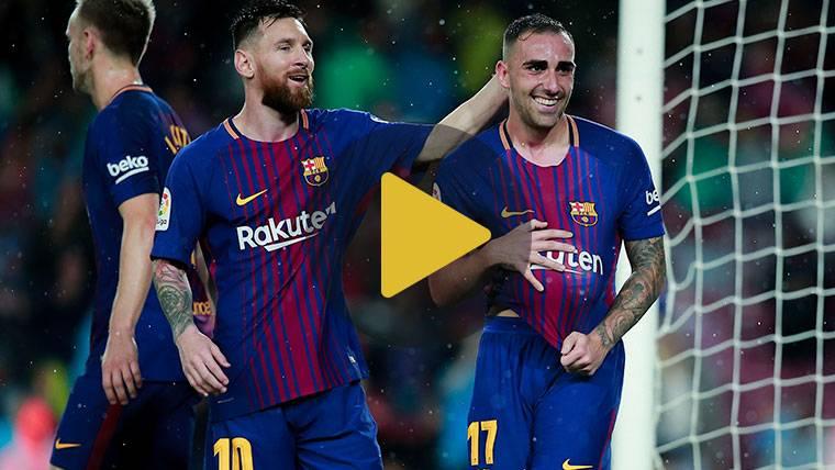Vídeo resumen: FC Barcelona 2 Sevilla 1 (LaLiga J11)