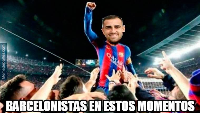 Estos son los mejores 'memes' del FC Barcelona-Sevilla