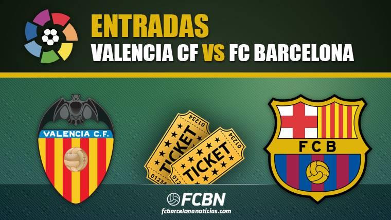 Entradas Valencia vs FC Barcelona
