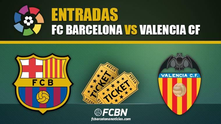 Entradas FC Barcelona vs Valencia