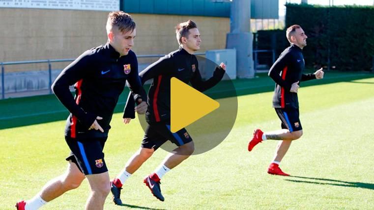 Arda Turan y Aleix Vidal aceleran en su recuperación