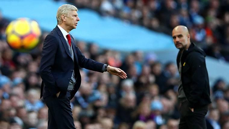 Pique entre Wenger y Guardiola tras el Manchester City-Arsenal