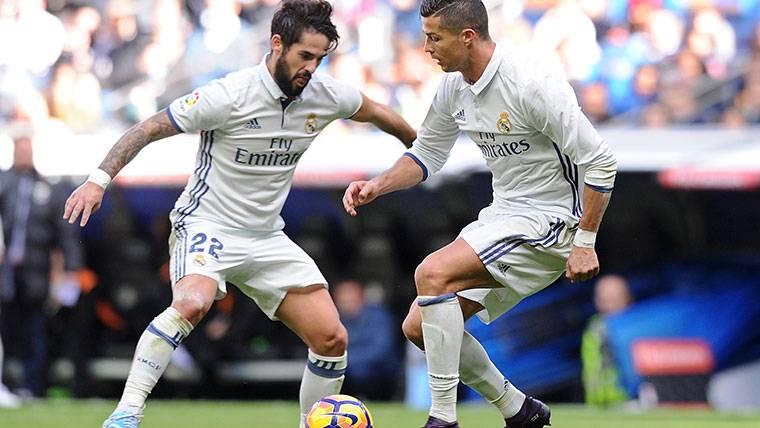 ¡Aseguran que Cristiano está enfadado con Isco en el Madrid!
