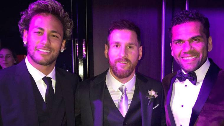 Messi asegura que no supo de la marcha de Neymar en su boda