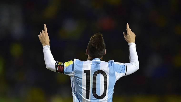 Qatar quiere albergar el último partido de Messi con Argentina