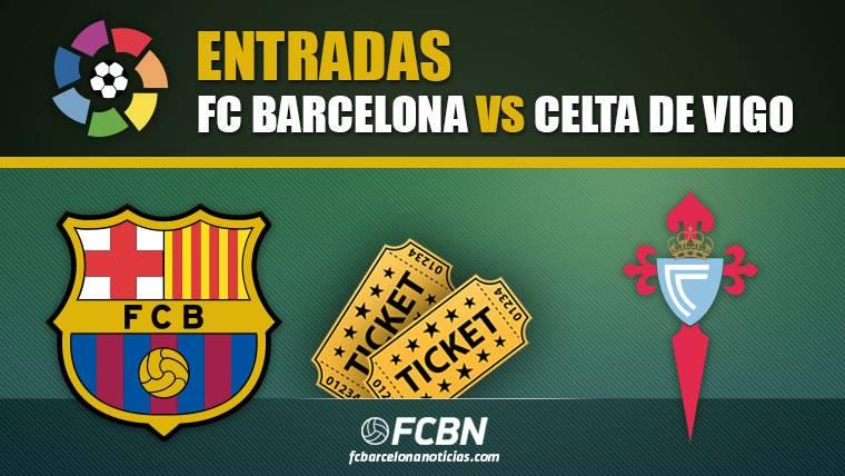 Entradas FC Barcelona vs Celta de Vigo - LaLiga Santander 2018-19