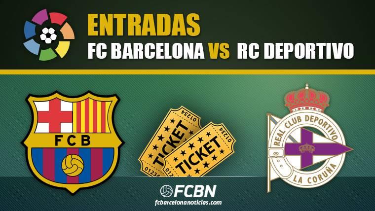 Entradas FC Barcelona vs Deportivo