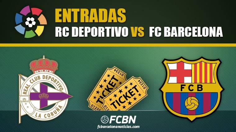 Entradas Deportivo vs FC Barcelona
