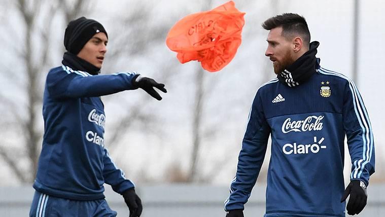 Paulo Dybala desvela una conversación con Leo Messi