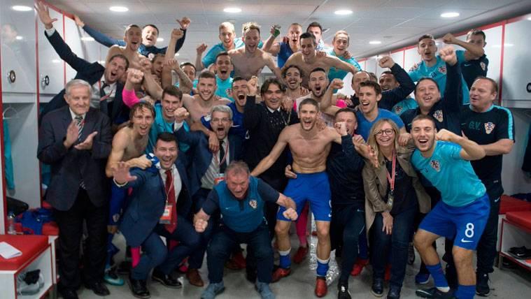 Rakitic explota tras certificar su clasificación para el Mundial