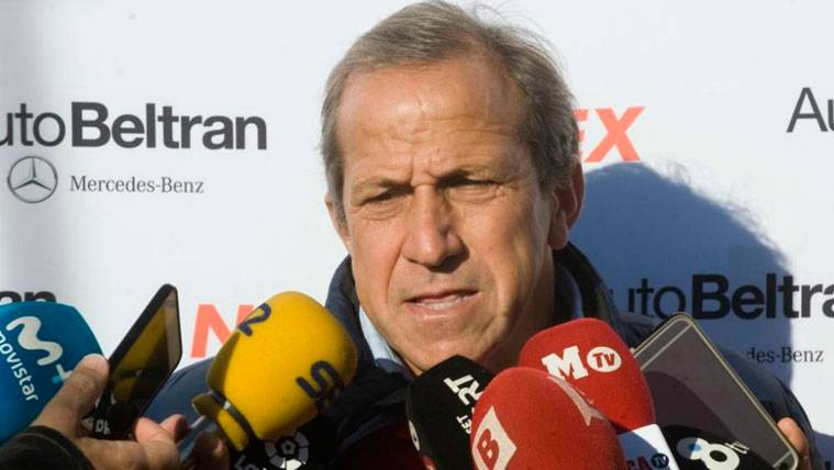 El entrenador y ex jugador del Barça Víctor Muñoz en una imagen de archivo