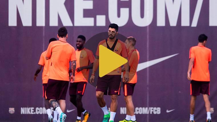 Luis Suárez y Arnáiz, novedades en la sesión del Barcelona