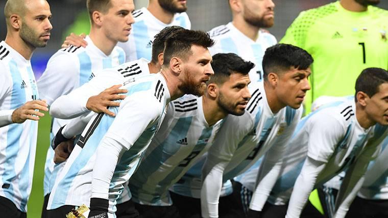 Messi y Argentina, antes de un partido en los últimos días