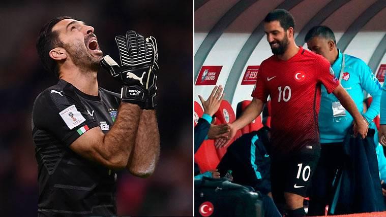 Las reacciones de Buffon y Arda a su eliminación del Mundial, muy distintas