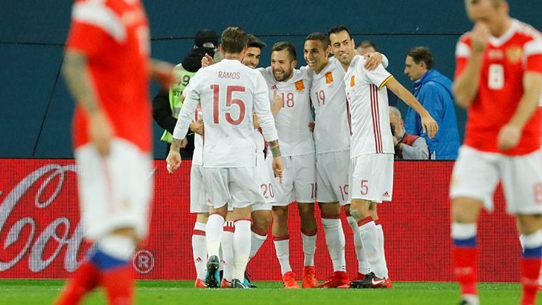 """Jordi Alba: """"Estoy con mucha confianza y espero seguir así"""""""