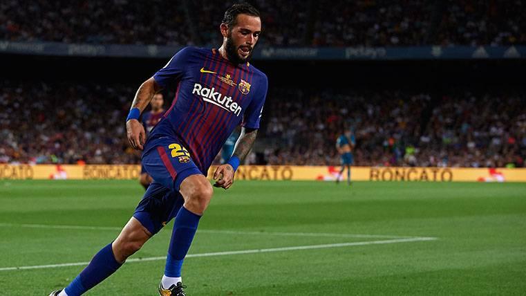 Aleix Vidal no quiere salir del Barça en el mercado de invierno