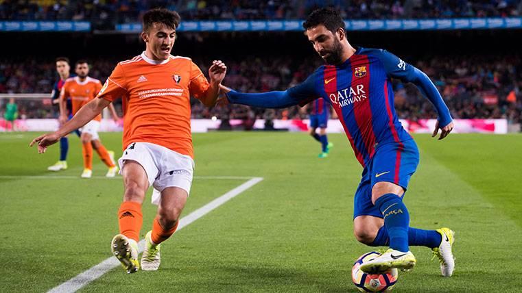 Tres jugadores del Barça B han jugado más que Arda Turan