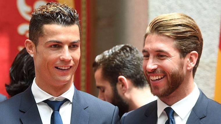 Sergio Ramos y Cristiano, enfrentados en el vestuario