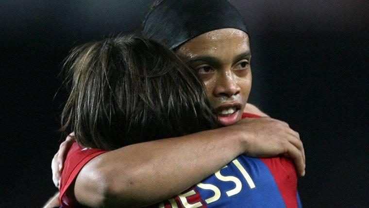No puede ocurrir con Leo Messi lo que pasó con Ronaldinho