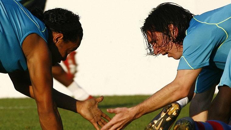 Ronaldinho apoyará a Messi si quiere dejar algún día el Barça