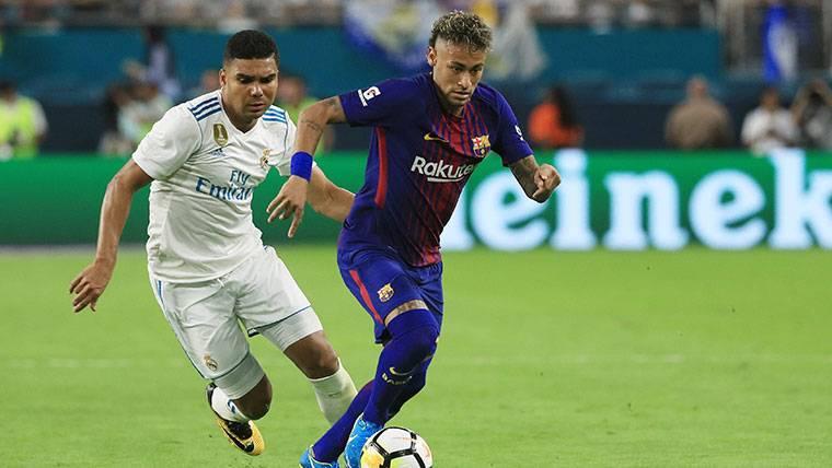 Así de bien recibiría el vestuario del Real Madrid a Neymar