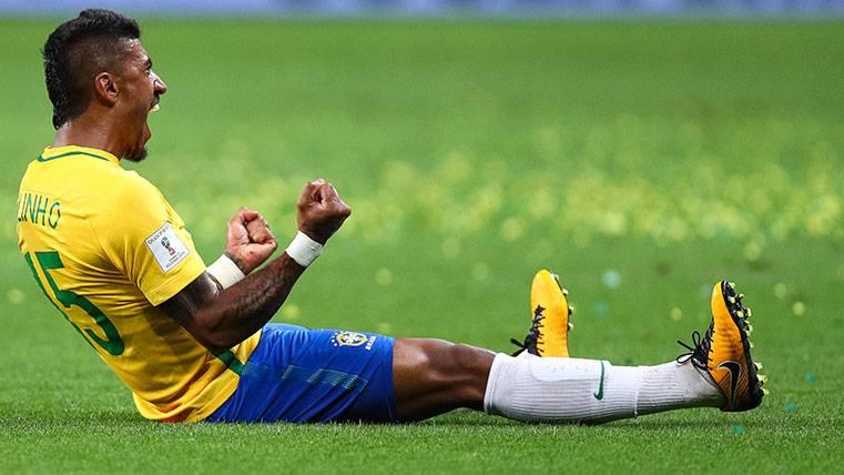 Sorprendente récord de Paulinho con la selección de Brasil