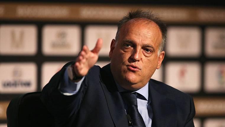 """Tebas amenaza al Barça: """"Podría cerrarse el Camp Nou"""""""