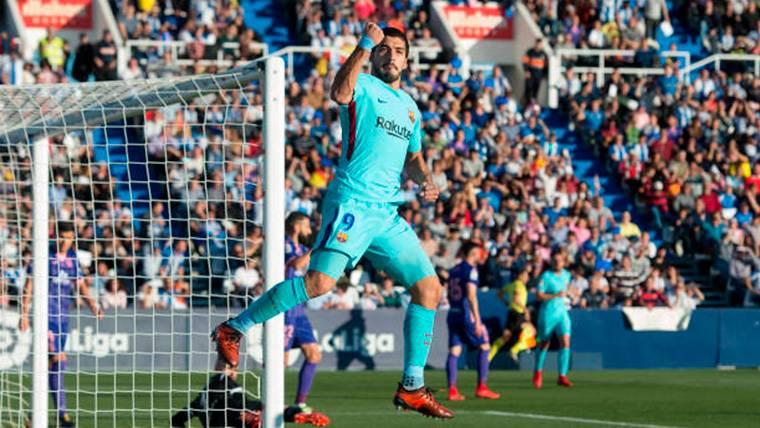 'Doblete' de Suárez al Leganés para demostrar que ha vuelto