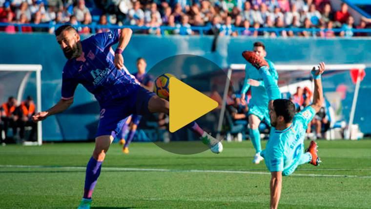 Vídeo resumen: Leganés 0 FC Barcelona 3 (LaLiga J12)