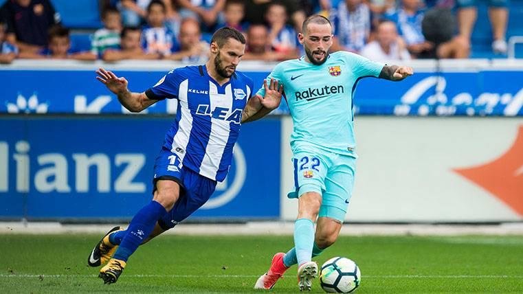 Aleix Vidal vuelve a los terrenos de juego tras un mes y medio
