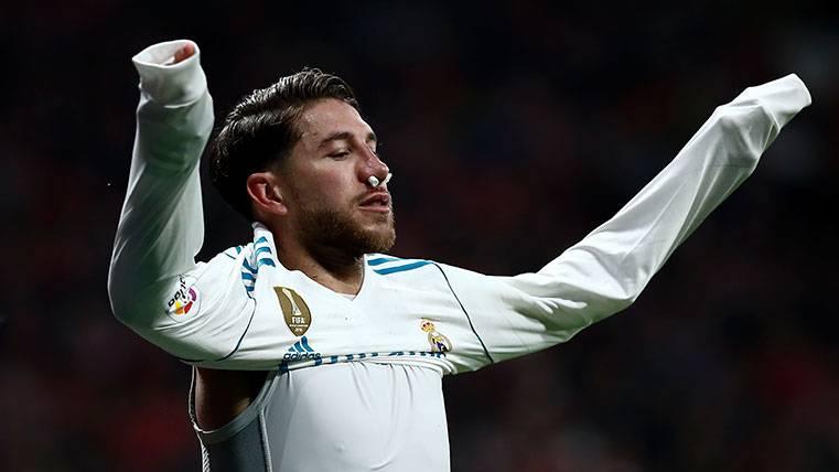 El mensaje de Sergio Ramos después de su fractura de nariz