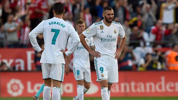 Cristiano y Benzema, de las peores delanteras de Europa