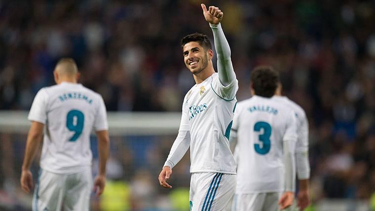 El rendimiento de Asensio ha caído en picado en el Real Madrid