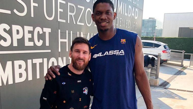"""El nuevo """"compañero de trabajo"""" de Leo Messi en el Barça"""
