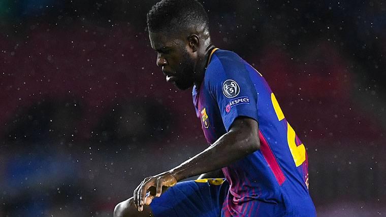 La carga de minutos de Umtiti, un riesgo para el Barcelona
