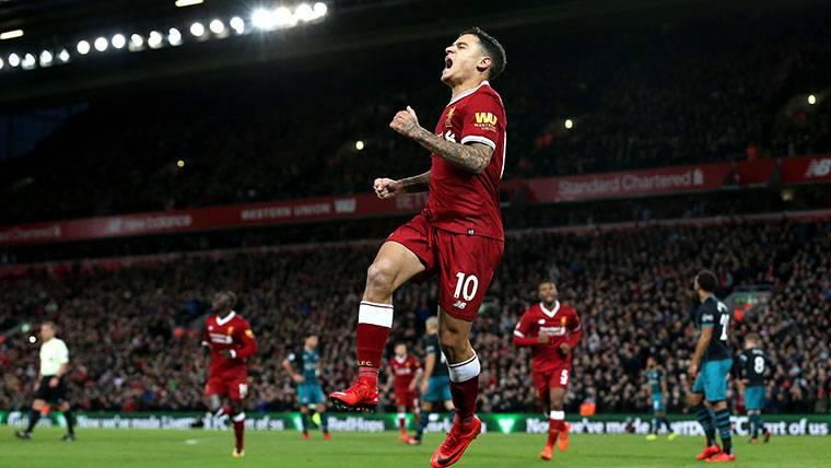 """Klopp: """"La mente de Coutinho está al 100% con el Liverpool"""""""