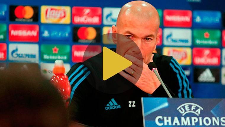"""Zidane, sobre el hundimiento del Madrid: """"No me preocupa"""""""