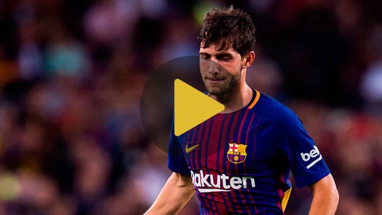 """Sergi Roberto: """"El Barça es el club de mi vida y quiero seguir"""""""