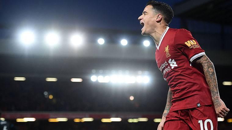Reunión Barça-Liverpool la próxima semana por Coutinho