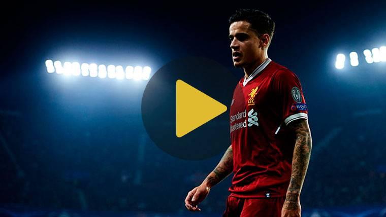Coutinho, 'señalado' por Klopp en el loco Sevilla-Liverpool