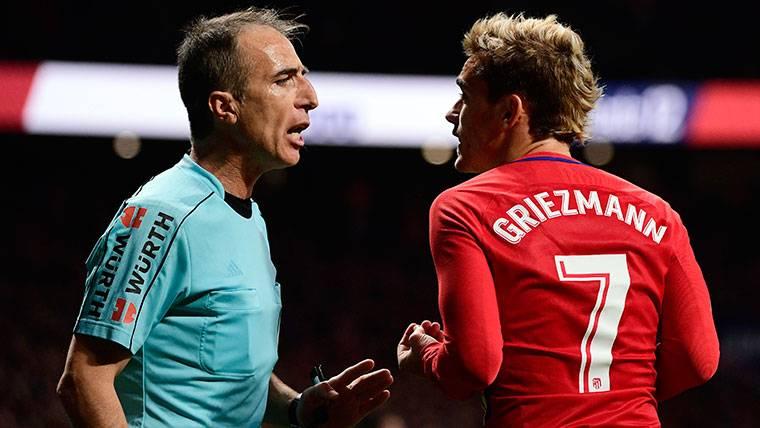 Simeone da las claves para la recuperación de Griezmann