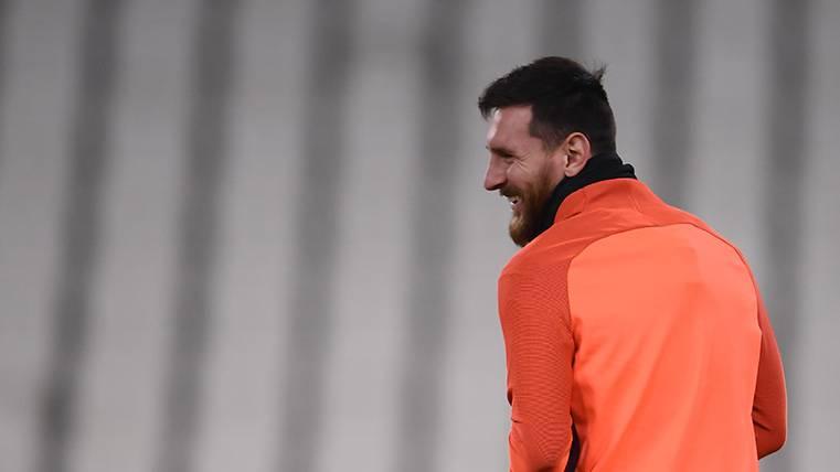 El porqué de la suplencia de Leo Messi ante la Juventus
