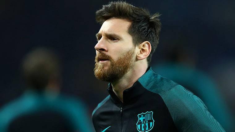 ¿Sabes desde cuándo no era suplente Messi en Champions?